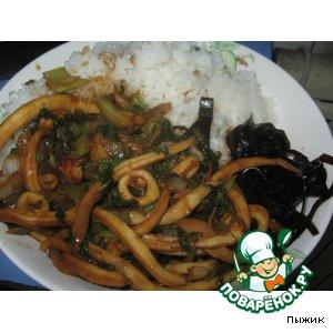 Рецепт Кальмар по-китайски