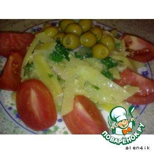 Рецепт Картофельная паста с беконом