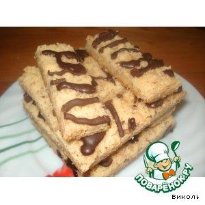 Рецепт Палочки имбирно-ореховые