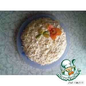 """Рецепт Салат с корейской морковкой  """"От кумы"""""""