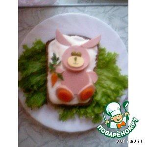 Рецепт Бутерброды для деток