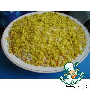 "Рецепт Салат ""Черепаха"""