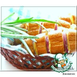Рецепт Ленивый сэндвич-багет