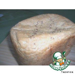 Рецепт Ржаной хлеб с тмином ( для хлебопечки)