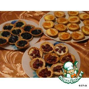 Рецепт Корзиночки фруктовые