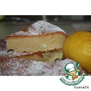 Рецепт Творожно-лимонный кекс