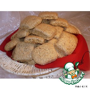 Рецепт Сладкое печенье с кунжутом