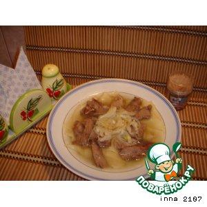 Рецепт Мясо по-казахски