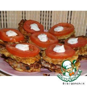 Рецепт Кабачковые пирожки с мясом