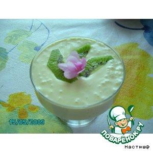 Рецепт Сливочно-фруктовый десерт