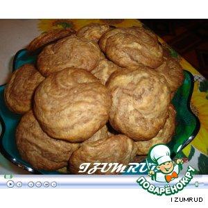 Рецепт Шоколадно-сливочное печенье!!!