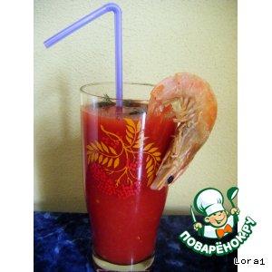 Рецепт Острый томатный коктейль