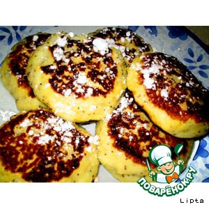 Рецепт Сырнички с маком