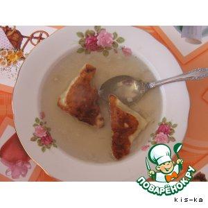 Готовим простой рецепт приготовления с фото Бульон с грибными ушками