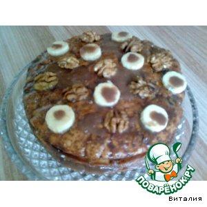 """Рецепт Торт """"Орехово-фруктовое наслаждение"""""""