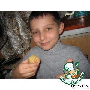 """Печенье без выпечки """"Tворожное рафаэлло"""""""