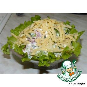 Рецепт Салат творожный