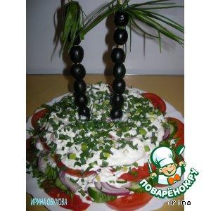 Салат «Доктор Айболит» рецепт с фотографиями как готовить