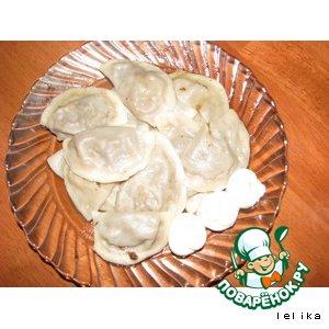 Рецепт Вареники с грибами и картошкой