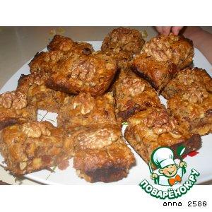 Рецепт Печенье-мюсли с финиками и яблоками