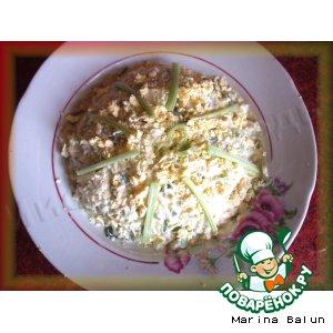 Рецепт Весенний салат с ревенем