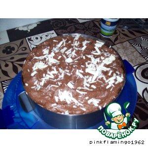Рецепт Малиново-шоколадный торт
