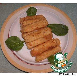 Рецепт Сырные пальчики