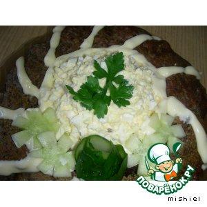 Рецепт Нежное суфле из печени