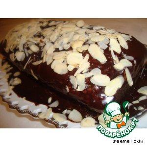 """Рецепт Шоколадно-ореховый кекс """"Приступ счастья"""""""