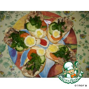 Рецепт Бутерброды «Гости на пороге»