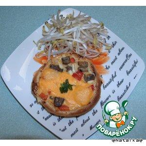 Рецепт с фотографиями Мини-пицца или булочки с начинкой