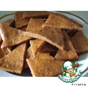 Рецепт Бананово-карамельное постное печенье