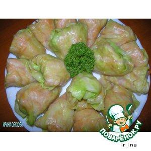 Рецепт Голубцы с морковью по корейски