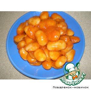 Как готовить Фасоль в томате домашний пошаговый рецепт приготовления с фото