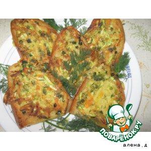 Рецепт Гренки с овощами