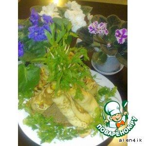 Рецепт Закуска «С любимым рай и в шалаше»