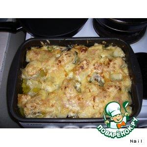 Рецепт Куриные голени под сыром