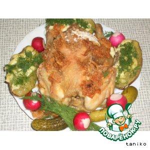 Рецепт: Рябчик с сырной корочкой