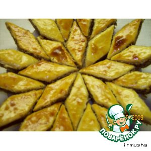 Рецепт Баклава по-азербайджански (дубль 2 )