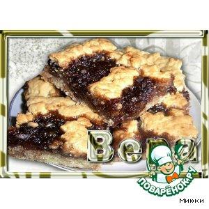 Рецепт Песочный пирог с вареньем
