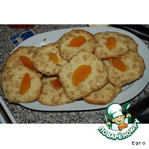 Рецепт Печенье с цукатами в овсяных хлопьях