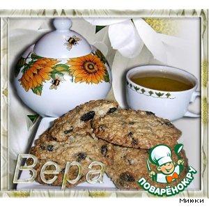 Овсяное печенье простой рецепт с фотографиями
