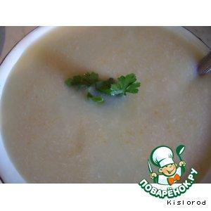 Рецепт: Суп-пюре с овощами и свининой
