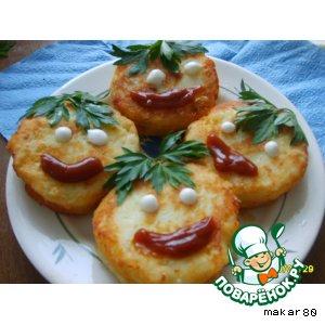 Рецепт Мордашки из картошки