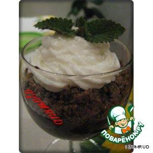 Рецепт Шоколадно-вафельный десерт