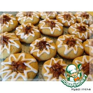 Рецепт Печенье с орехом