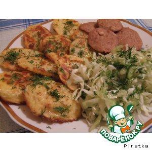 Рецепт Картофель в сырном кляре