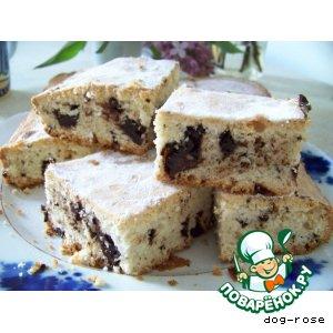 Рецепт Рассыпчатый кекс