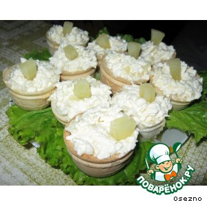 Рецепт Закусочные корзиночки