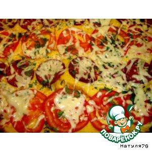 Рецепт Ленивая пицца